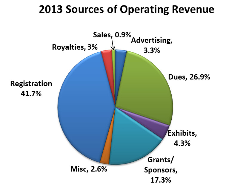 2013 sources of revenue