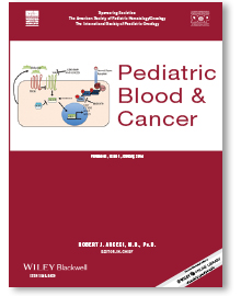 Pediatric Blood and Cancer Cover