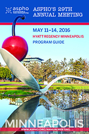 ASPHO16 ProgramBook Cover