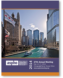2014 ASPHO Annual Meeting Brochure Cover