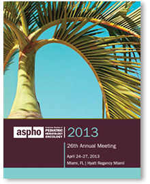 2013 ASPHO Annual Meeting Brochure