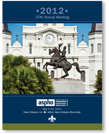 2012 ASPHO Annual Meeting Brochure